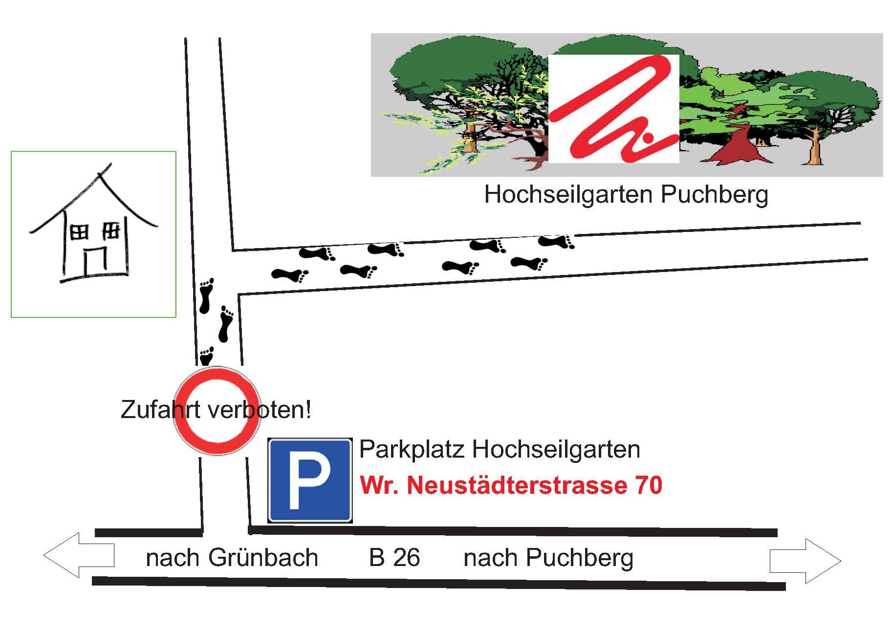 Parkplatz HSG