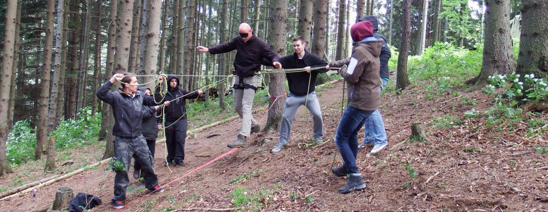 Teamtraining und Erlebnispädagogik